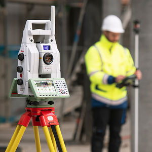 robotic total station / with integrated GNSS / with digital imaging / with 3D laser scanner