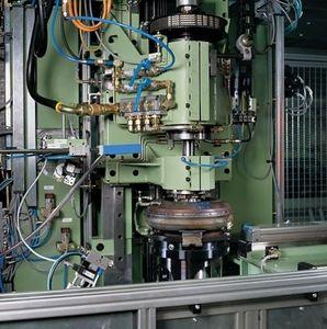 vertical balancing machine / dynamic / torque converter / automatic