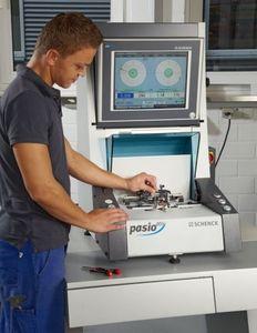 universal balancing machine / horizontal / soft bearing / for rotors