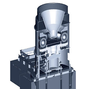 ball mill / vertical / for coal grinding