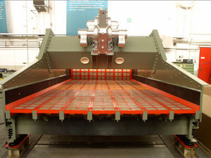 linear vibrating screener