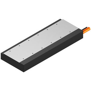 synchronous linear motor / air-cooled / compact / flat