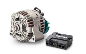 compact alternator / high-power / for marine applications / industrial