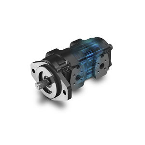 gear hydraulic motor / variable-displacement / cast iron