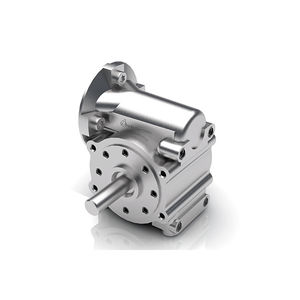 worm gear reducer / right angle / 1 - 5 Nm / for shafts