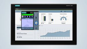 programmable logic controller with touch screen