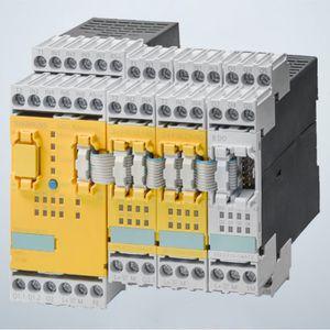 safety relay / DIN rail / IEC / modular
