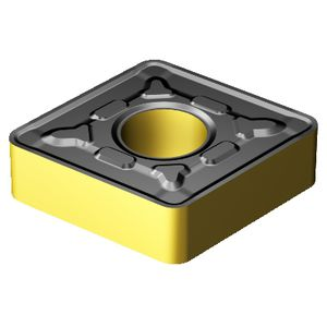 negative turning insert / CBN / PCD / for steel