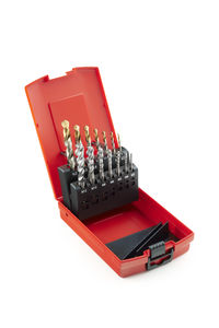 solid drill and tap set