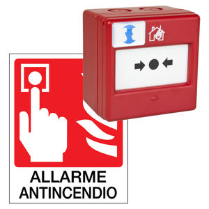 fire alarm manual call point / resettable