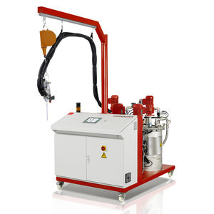 mixer-dispenser with gear pump