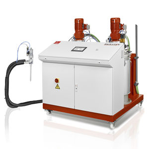 multi-component mixer-dispenser / with gear pump / adhesive / mobile