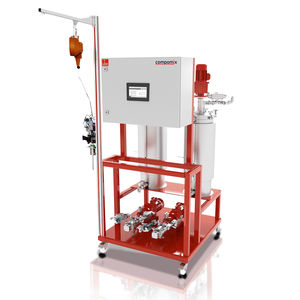 mixer-dispenser with gear pump / resin / two-component / multi-component