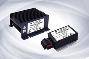 logistic DC/DC converter / encapsulated / industrial / for railway applications