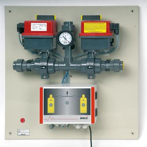 ball valve / electric / control / changeover