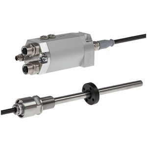 compact linear encoder / absolute / magnetostrictive / analog