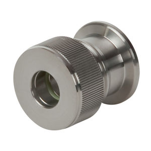 compression fitting / straight / for vacuum
