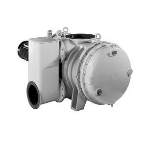 Roots rotary lobe vacuum pump / oil-free / single-stage / cast iron