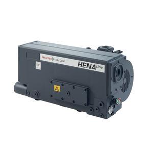 rotary vane vacuum pump / lubricated / single-stage / air-cooled