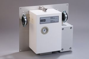 heated gas filter