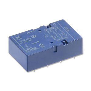 electromechanical relay with guided contacts / 24VDC / 12VDC / 48VDC