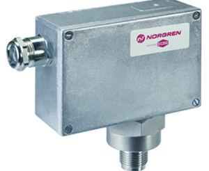 electromechanical pressure switch / rugged / high-accuracy