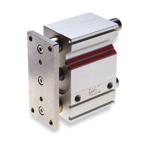 pneumatic cylinder / double-acting / stopper / guide