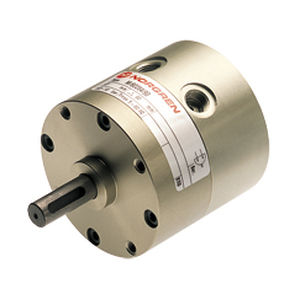 rotary cylinder / pneumatic / double-acting / rotary vane