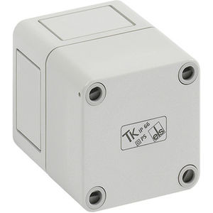 wall-mount enclosure / small-size / rectangular / polystyrene