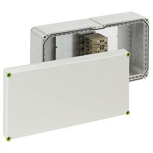 wall-mounted junction box / halogen-free / IK 08 / weatherproof