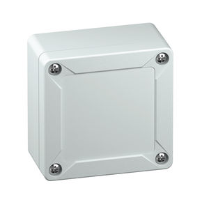 wall-mount enclosure / rectangular / ABS / empty