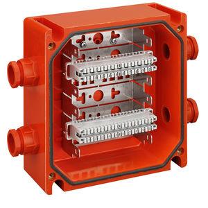 wall-mounted terminal box / waterproof / IP66 / plastic