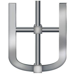 anchor type impeller / for agitators / radial-flow