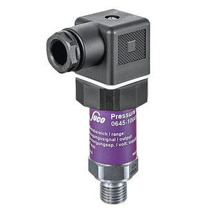 vacuum pressure transmitter / piezoresistive / analog / immersed