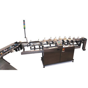 belt feeder / continuous-motion / food / sanitary