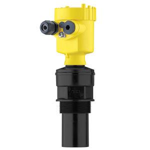 ultrasonic level sensor / for liquids / bulk solids / stainless steel