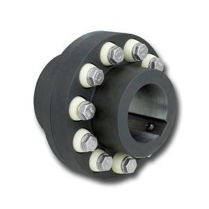 pin and bush coupling / flexible / pump / fan