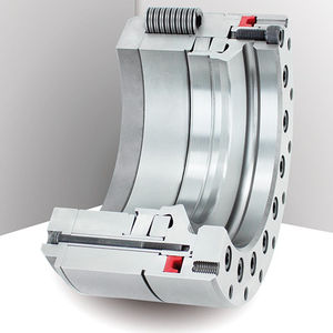 hydraulic clamping device / with spring and hydraulic release