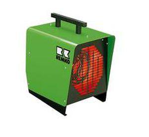mobile hot air generator / electric