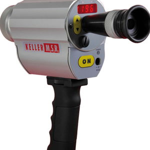 infrared pyrometer with LED display / portable / USB / for flue gas