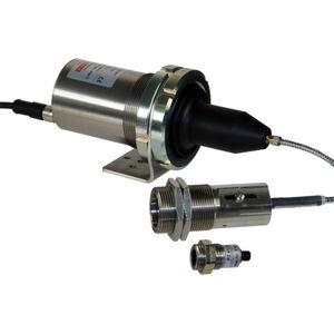 fiber optic pyrometer / digital / fixed / USB