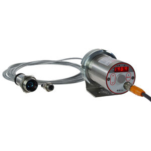 digital infrared pyrometer / stationary / IO-Link / with fiber optic