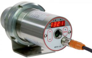 infrared pyrometer with LED display / fixed / IO-Link / 4-20 mA