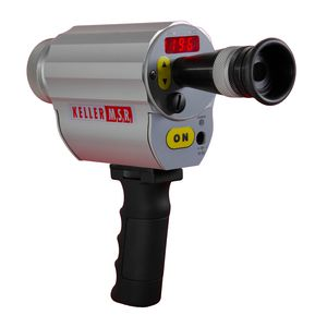pyrometer with LED display / portable / USB / for low emissivity