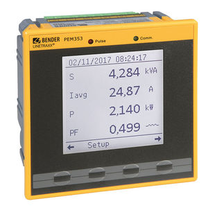 power quality measuring instrument / voltage / AC / electrical network
