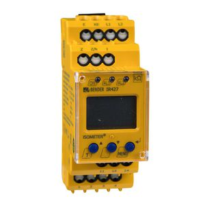 AC network insulation monitor / for medical applications