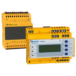 voltage monitoring relay / frequency / phase sequence / phase unbalance