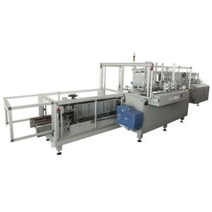 wrap-around case packer / vertical / automatic / carton