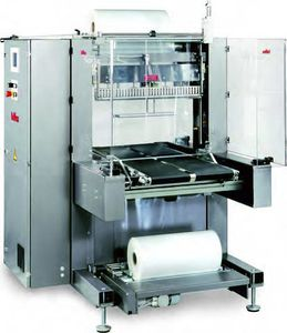 in-line sleeve wrapping machine