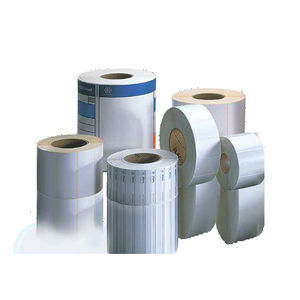 adhesive label / thermal transfer / paper / polyester